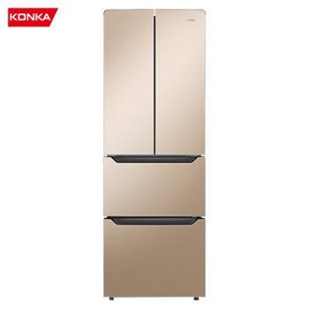 康佳/Konka超薄嵌入式保鲜存储法式上对开多门冰箱BCD-300EGX4SU