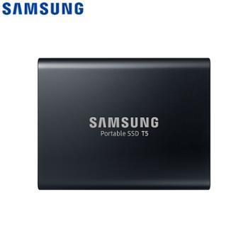 三星/SAMSUNG2TBType-cUSB3.1移动硬盘T5玄英黑