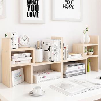 书架简单创意可组合桌面书架儿童学生桌面收纳架桌上书架文具架