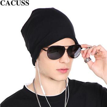 CACUSS嘻哈韩版套头头巾帽帽子男士男帽街舞帽男潮帽夏棉
