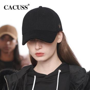 CACUSS 韩版绣花棒球帽女士鸭舌帽