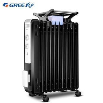 格力油汀取暖器家用节能11片油丁电暖气省电暖炉电热暖风机电暖器NDY07-X6021