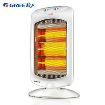 格力取暖器家用 小太阳远红外电暖器节能省电速热立式摇头烤火炉
