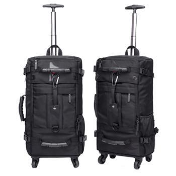 kaka 大容量多功能拉杆背包