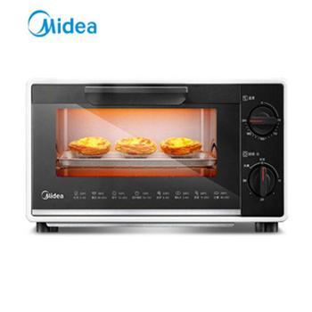 美的多功能家用烘焙小型电烤箱T1-109F