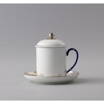 金和汇景-先生瓷海上明珠三件套会议杯|办公用杯