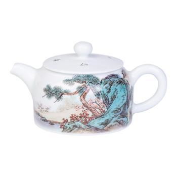 金和汇景·陈章涛手作粉彩茶壶(三选一)