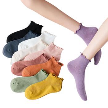 喵念/MeowRead【5双装】百搭棉质短棉袜船袜系列女款