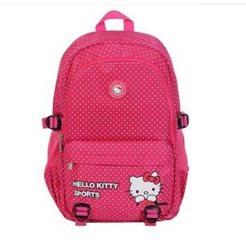 凯蒂猫(HELLOKITTY)学生双肩背包HHB44888玫红色