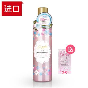 日本进口laggie滋润洗发水300ml适合干性毛糙及受损发质