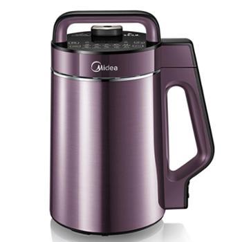 美的 豆浆机生磨免滤家用多功能可预约WHK13W71浅紫色