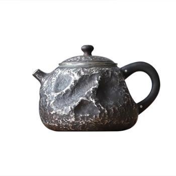 鹤川造物银壶【2款可选】纯银烧水壶纯银泡茶壶家用纯手工小银壶茶道