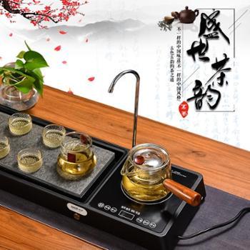 琳朗智能茶盘电陶炉C1700家用办公自动上水蒸茶煮茶电陶炉