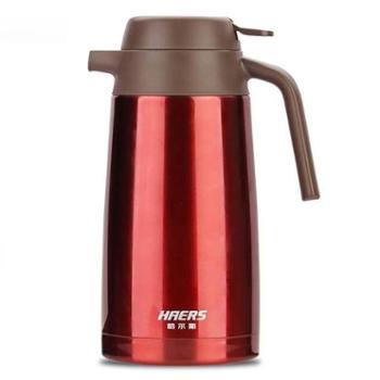 哈尔斯 保温壶1.6L家用保温壶保温瓶红色HK-1600-8
