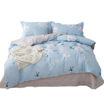恒源祥 古典风雅四件套 床品套装 古典风雅TBK2018A 床单 被罩 枕套