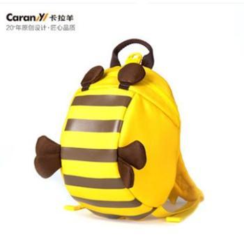 卡拉羊儿童书包幼儿园女3-6岁幼儿小书包宝宝背包1-3岁减负双肩包CX6097