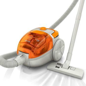 飞利浦吸尘器家用小型迷你卧式手持式强力大功率除螨