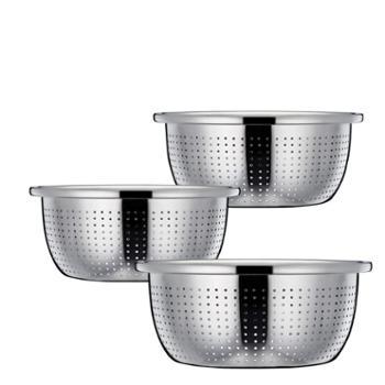 伯尔尼斯(Bernese)米筛 不锈钢洗米盆三件套BENS-205
