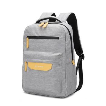 SWIMADE瑞制RZ6210灰色双肩包男包炫彩韩版时尚潮流背包户外运动学生书包上班笔记本电脑包礼品