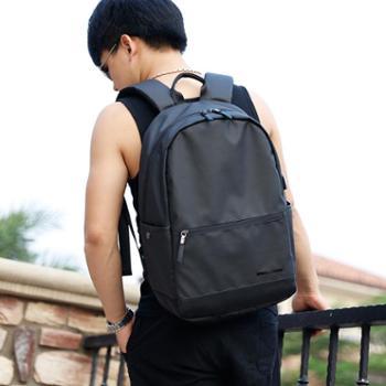 SWIMADE瑞制RZ8105黑色双肩包韩版时尚潮流背包USB电脑包多功能运动休闲旅行包