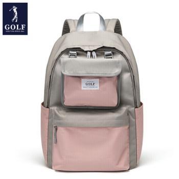 高尔夫GOLF女款时尚撞色双肩包D033866