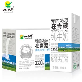 小西牛精品量贩装纯牛奶盒装纯牛奶250ml*20盒