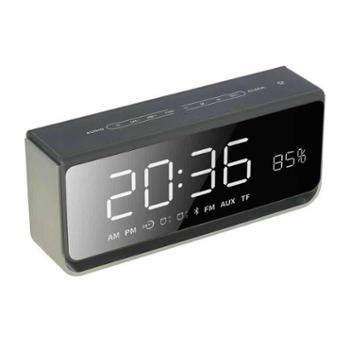 传谷LED镜面时钟蓝牙无线插卡音箱S9