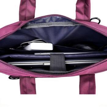 蕾曼德联想华硕戴尔单肩手提男女式笔记本电脑包12寸14寸15.6寸17.3