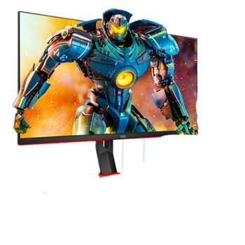 AOC27英寸23.8英寸广色域144Hz人体工学支架游戏电竞曲面显示器