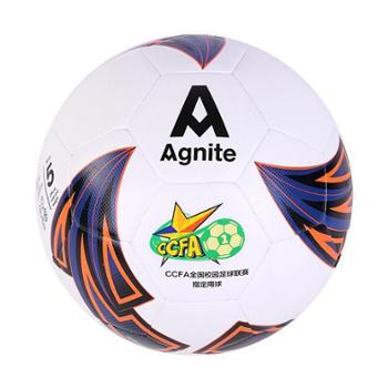 安格耐特(Agnite)5号标准PU训练足球 青少年足球联赛指定用球 F1219