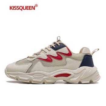 自由绽放KISSQUEEN男休闲运动鞋轻质透气男鞋D02
