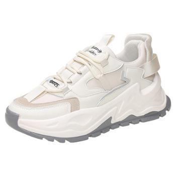 自由绽放KISSQUEE新款女休闲运动鞋小白鞋柔软透气女鞋8872
