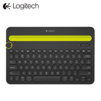 罗技无线蓝牙键盘IPAD手机平板办公便捷键盘K480