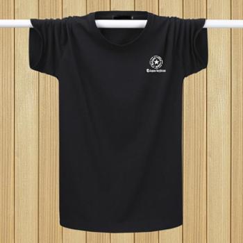 Aeroline时尚短袖T恤男装印花圆领大码潮青年上衣012款