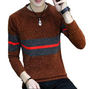 Aeroline冬季毛衣男士韩版保暖打底针织衫男外套加厚毛线衣