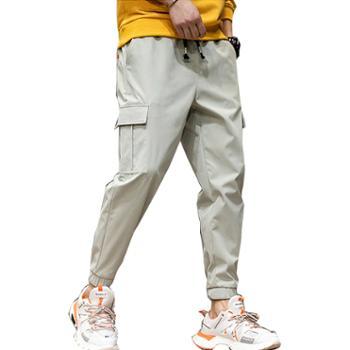 Aeroline工装裤男士长裤束脚休闲裤宽松九分运动裤子