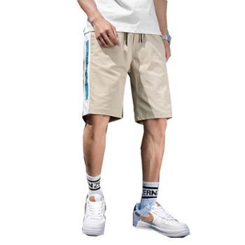 柏誉/Aeroline 男士短裤 夏季中腰薄款宽松五分裤