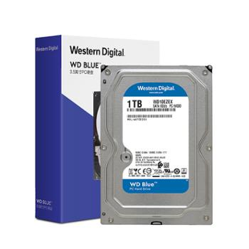西部数据/WD 台式机PC机械电脑win硬盘 3.5英寸blue蓝系列 高速SATA接口高速缓存