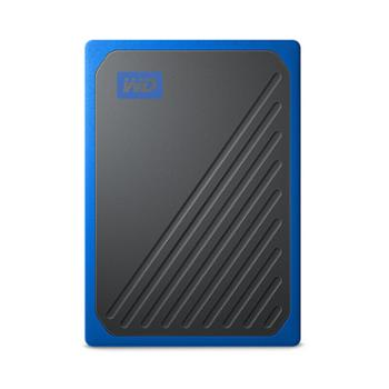 西部数据/WD PC台式笔记本电脑移动固态硬盘 My Passport Go