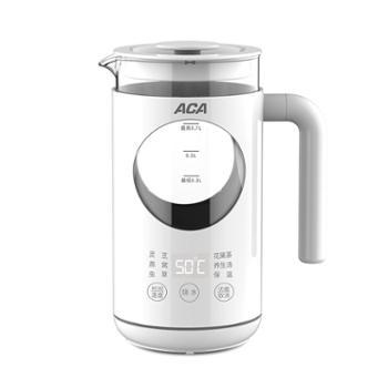 北美电器/ACA 电水壶 多功能304不锈钢养生壶 烧水壶 ALY-06YS23D