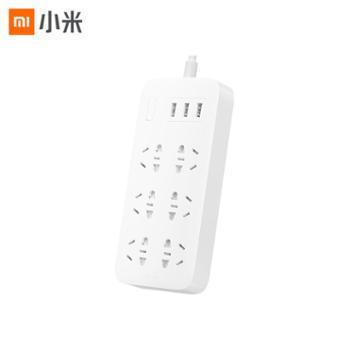 小米米家插线板6位基础版(含3口USB 2A快充)