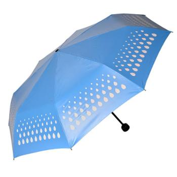 海螺遇水变色伞——水滴
