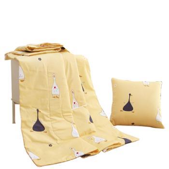 芳恩 全棉印花抱枕被 FN-R722 40╳40cm 打开100╳150cm