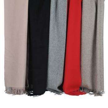艾丝雅兰 纯色羊羔绒围巾 A-D324