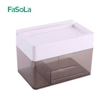 FaSoLa卫生间免打孔纸巾盒