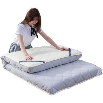 普马狮纯色水洗棉床垫90*200cm