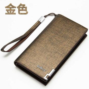 baellerry新款男士钱包长款多功能拉链手拿包多卡位大容量小手包