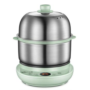 小熊/Bear煮蛋器ZDQ-B14Y5家用多功能自动断电双层蒸蛋早餐机