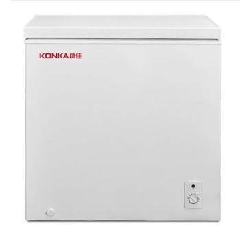 Konka/康佳BD/BC-218DTH冰柜小冷柜商用卧式家用大容量冷藏冷冻