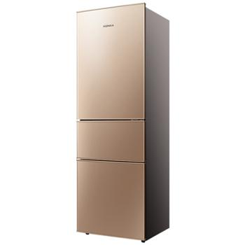 Konka/康佳三门冰箱风冷无霜小冰箱三开门电冰箱